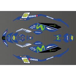 Kit de decoración de Ñame de la serie GP para el Seadoo Chispa -idgrafix