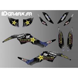 Kit de decoración 100% Personalizado Rockstar de la serie - IDgrafix - Yamaha 350 Raptor