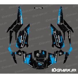 Kit de decoración de Spotof Edición (Azul)- IDgrafix - Polaris RZR 1000 Turbo