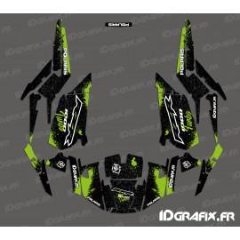 Kit decorazione Spotof Edizione (Verde)- IDgrafix - Polaris RZR 1000 Turbo -idgrafix
