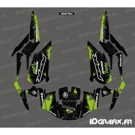 Kit decoration Spotof Edition (Green)- IDgrafix - Polaris RZR 1000 Turbo-idgrafix