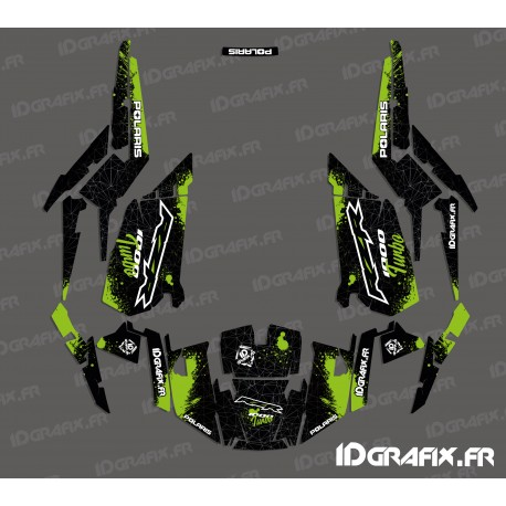 Kit decoration Spotof Edition (Green)- IDgrafix - Polaris RZR 1000 Turbo - IDgrafix