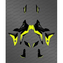 Kit de decoración de color Amarillo FLUORESCENTE GP edition - Yamaha MT-09 Tracer -idgrafix