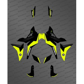 Kit decoration FLUORESCENT Yellow GP edition - Yamaha MT-09 Tracer - IDgrafix