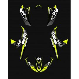 Kit de decoració 100% Personalitzat Edició - IDgrafix - Kawasaki KFX 450R