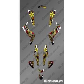 Kit Deco Custom Rockstar Edition - Kymco 250 Maxxer/KXR - IDgrafix