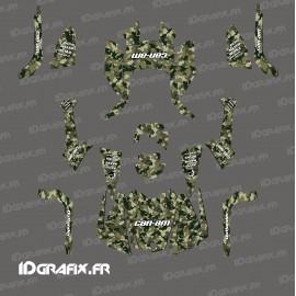 Kit de decoración de Camuflaje Edición Completa (Verde/Marrón) - IDgrafix - Can Am Outlander (G2) -idgrafix