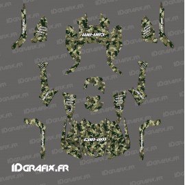 Kit decoration Camo Edition Full (Green/Brown) - IDgrafix - Can Am Outlander (G2) - IDgrafix