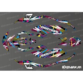 Kit decorazione Flash di serie per la Seadoo Scintilla -idgrafix