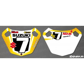 Panel / Pit Board Custom - Suzuki series - IDgrafix-idgrafix
