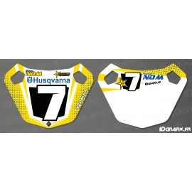 Panel / Pit Board Custom - Husqvarna series - IDgrafix