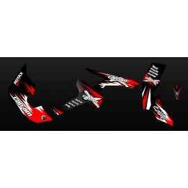 Kit decoration Race Series Full (Red) - IDgrafix - Can Am Renegade