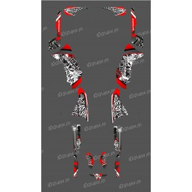 Kit décoration Red Tag Series - IDgrafix - Polaris 500 Sportsman