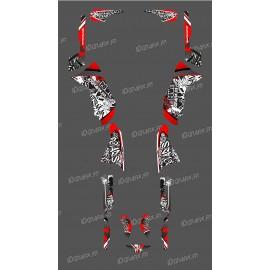 Kit de decoración de la Etiqueta Roja de la Serie - IDgrafix - Polaris 500 Deportista