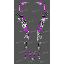 Kit décoration Rose Tag Series - IDgrafix - Polaris 500 Sportsman