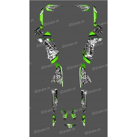 Kit decorazione Verde Serie Tag - IDgrafix - Polaris 500 Sportsman -idgrafix