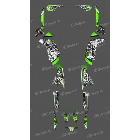 Kit de decoració Verda Etiqueta de la Sèrie - IDgrafix - Polaris 500 Esportista -idgrafix