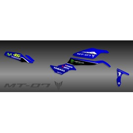 Kit de decoració GP sèrie (blau) - IDgrafix - Yamaha MT-07 -idgrafix