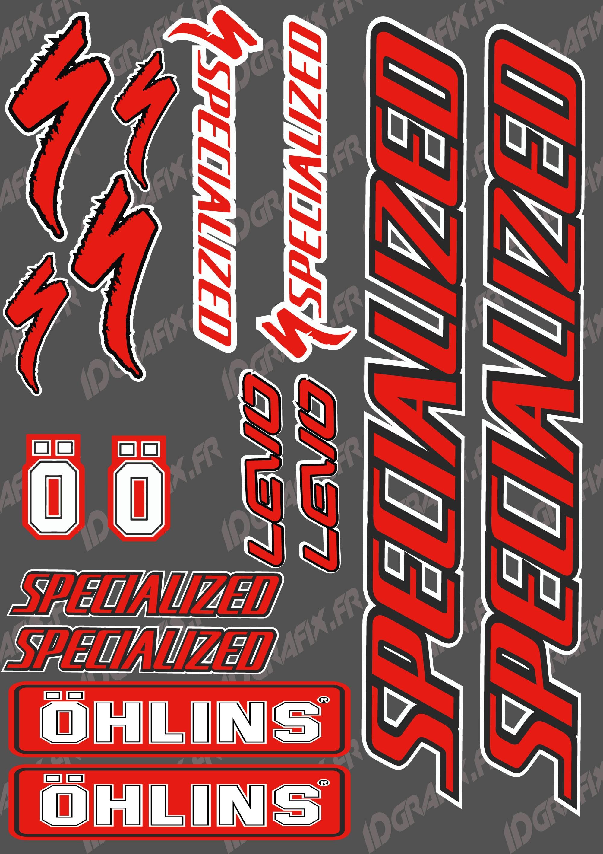 Board sticker 21x30cm red black specialized ohlins idgrafix jpg