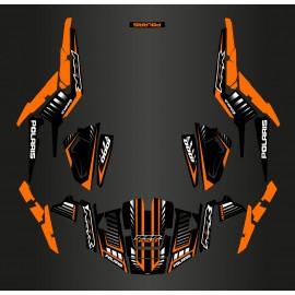 Kit decoration Speed Edition (Orange) - IDgrafix - Polaris RZR 1000 S/XP-idgrafix