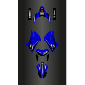 Kit deco Racing Blue for Yamaha 660 XT (after 2007)-idgrafix