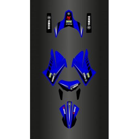 Kit déco Racing Bleu pour Yamaha 660 XT (après 2007)