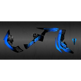 Kit de decoración de BRP Azul Edición Completa (Azul) - IDgrafix - Can Am Renegade -idgrafix