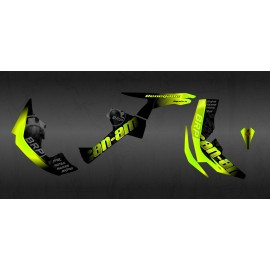 Kit decoration BRP Yellow Edition Full (Yellow) - IDgrafix - Can Am Renegade - IDgrafix