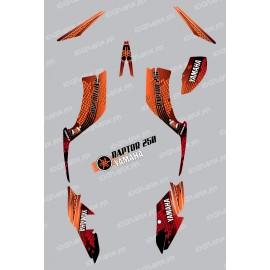 Kit decoration Snake Orange - IDgrafix - Yamaha 250 Raptor