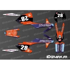 photo du kit décoration - Kit décoration 100% Perso - KTM EXC 2012