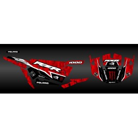 Kit decoration XP1K3 Edition (Red)- IDgrafix - Polaris RZR 1000 Turbo - IDgrafix