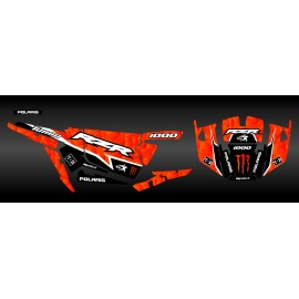 Kit de decoración de XP1K3 Edición (Naranja)- IDgrafix - Polaris RZR 1000 Turbo