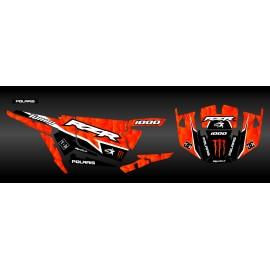 Kit decorazione XP1K3 Edizione (Arancione)- IDgrafix - Polaris RZR 1000 Turbo
