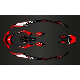 Kit décoration Light Spark Red pour Seadoo Spark