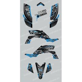 Kit décoration Tag Bleu - IDgrafix - Yamaha YFZ 450