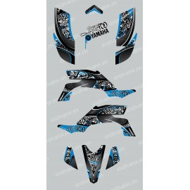 Kit de decoración de Etiqueta Azul - IDgrafix - Yamaha YFZ 450