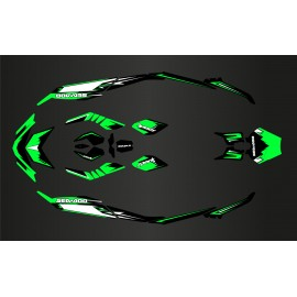Kit de decoració Espurna de Llum Verda per Seadoo Espurna -idgrafix
