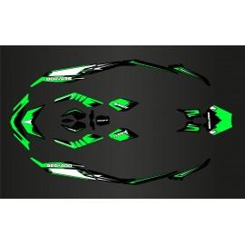 Kit decorazione Luce Scintilla Verde per Seadoo Scintilla -idgrafix