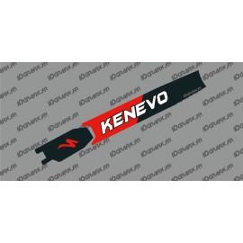 Adesivo di protezione della Batteria - Kenevo Edizione (Rosso) - Specialized Turbo Kenevo -idgrafix