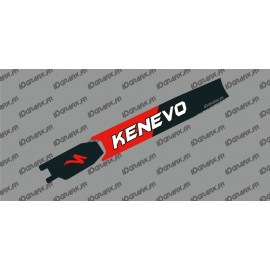Sticker protection Batterie - Kenevo Edition (Rouge) - Specialized Turbo Kenevo