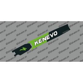 Sticker protection Battery - Kenevo Edition (Green) - Specialized Turbo Kenevo - IDgrafix