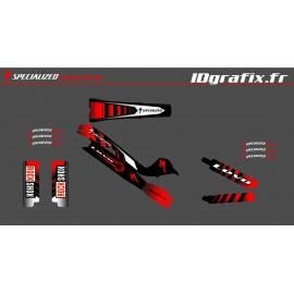 Kit-deco-100% Eigene Full - Specialized Turbo-Levo - Girones -idgrafix