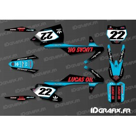Kit deco Lucas Oil Blue Edition KTM SX - SXF - IDgrafix