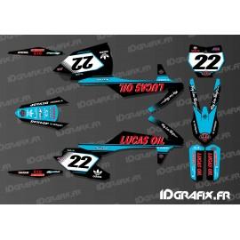 Kit deco Lucas Oil Blue Edition KTM SX - SXF - IDgrafix