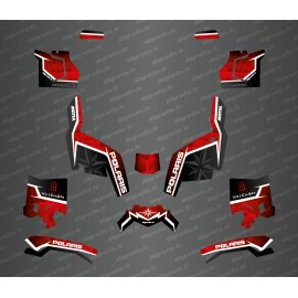 Kit déco side edition (rouge) - Idgrafix - Polaris Sportsman XP 1000 (après 2018)-idgrafix