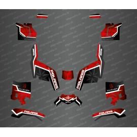 Kit deco lato edizione (rosso) - Idgrafix - Polaris Sportsman XP 1000 (dopo il 2018) -idgrafix