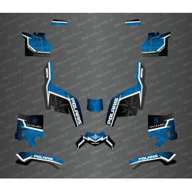 Kit deco side edition (Blue) - Idgrafix - Polaris Sportsman XP 1000 (after 2018)-idgrafix
