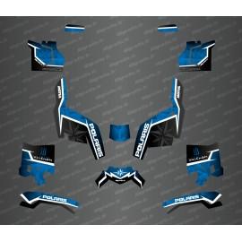 Kit deco side edition (Blue) - Idgrafix - Polaris Sportsman XP 1000 (after 2018) - IDgrafix