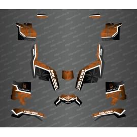 Kit deco side edition (Brown) - Idgrafix - Polaris Sportsman XP 1000 (after 2018) - IDgrafix
