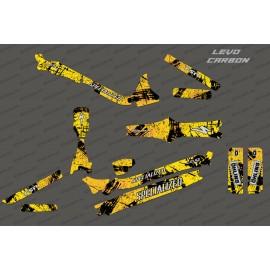 Kit deco Pennello Edizione Completa (Giallo) - Specializzata Levo Carbonio -idgrafix